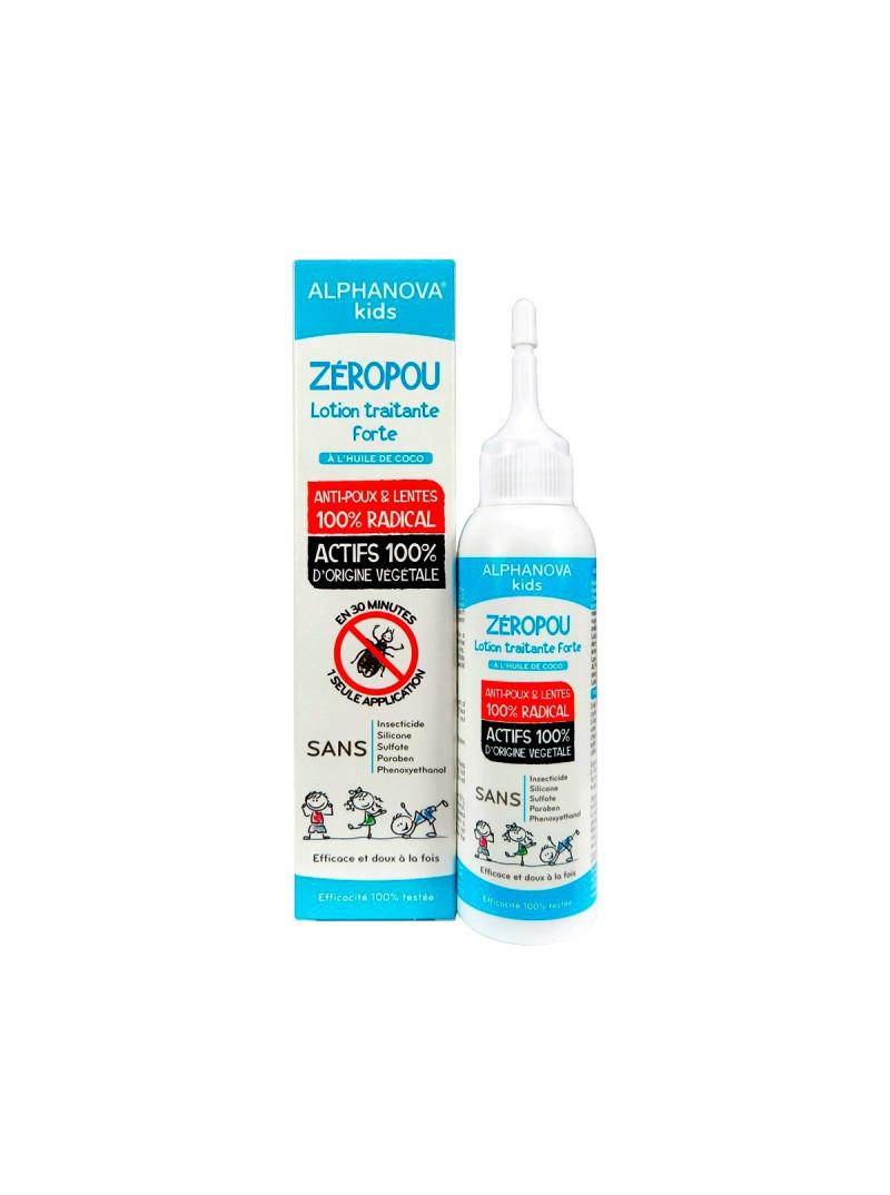 ZEROPOULOTION TRAITANTE FORTE ANTI-POUX & LENTES 100% RADICALE