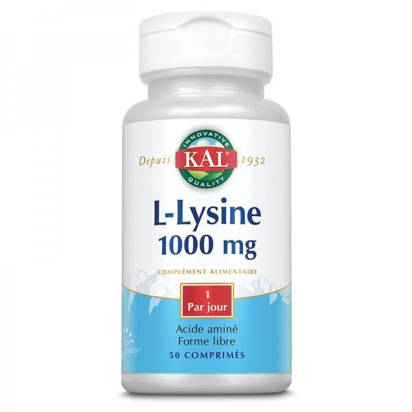 L-LYSINE 1000 mg de KAL