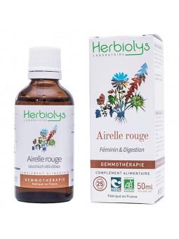 Airelle rouge bourgeons en liquide bio de herbiolys