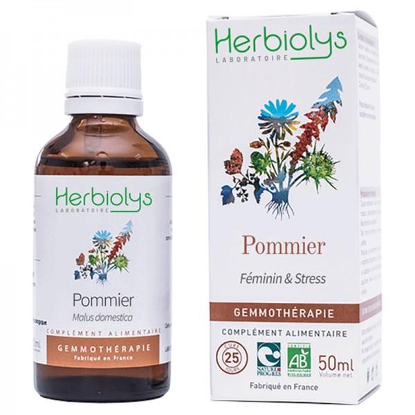Pommier bourgeons en liquide bio herbiolys