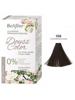 Coloration Délicate DOUSSCOLOR n° 104 Chatain Naturel Beliflor