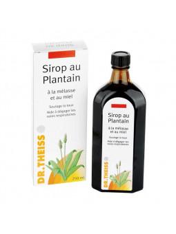 Sirop au Plantain Mélasse et Miel Dr Theiss