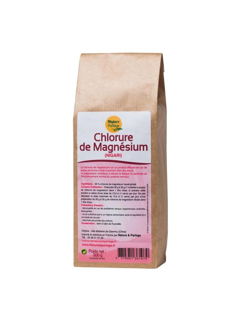 Chlorure de Magnésium (Nigari) de Nature & Partage