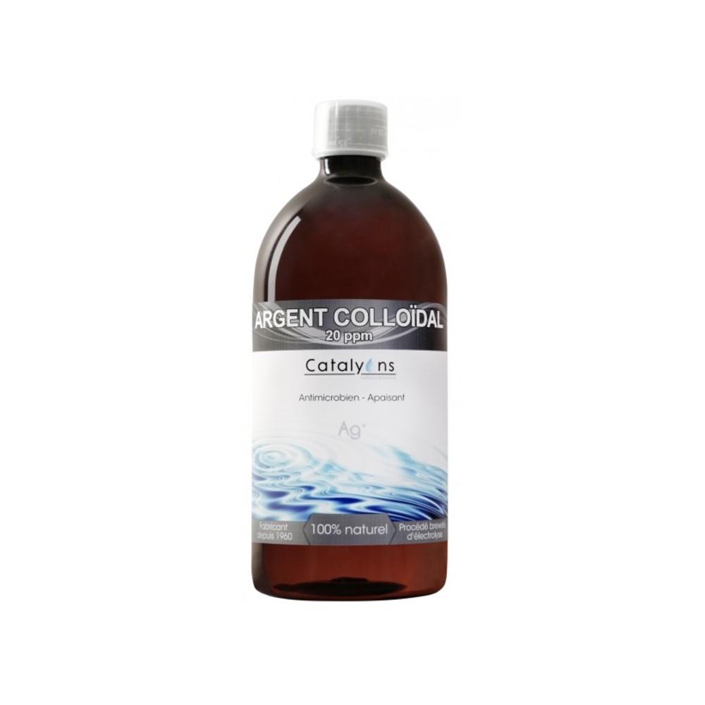 ARGENT COLLOÏDAL (20PPM) 500 ml)
