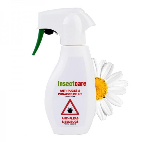 Spray Textile & Literie Anti-puces et punaises de lit INSECTCARE