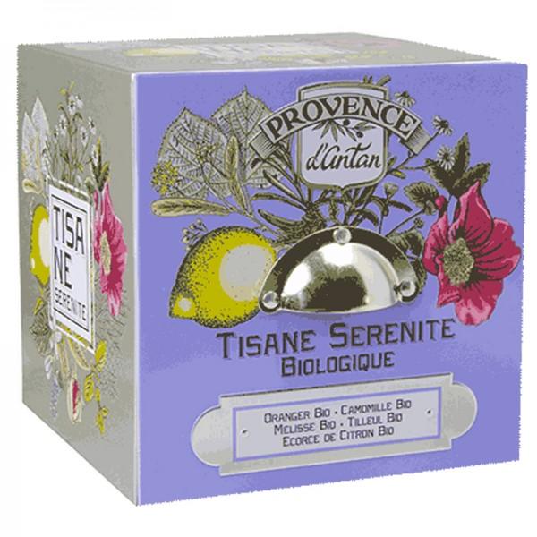Tisane Serenité Bio Cube métal
