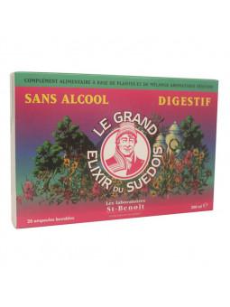 Elixir du Suédois - Sans alcool - Ampoules - Laboratoires St Benoit