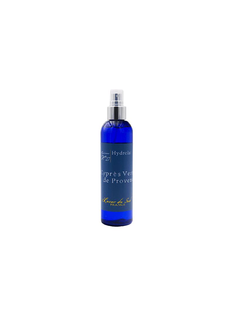 Cyprès vert de Provence - Eau Florale Bio de la distillerie  Lueur du Sud