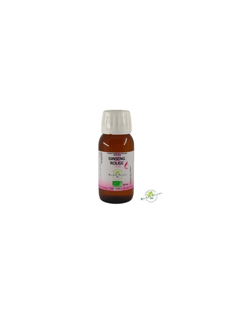 Ginseng rouge extrait hydroalcoolique Bio herboristerie du palais royal