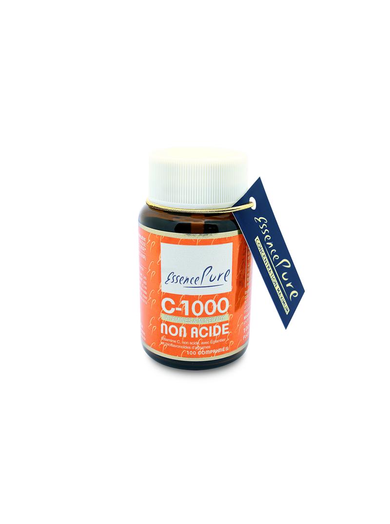 Vitamine C 1000 non acide - en comprimés Essence Pure Herboristerie du Palais Royal