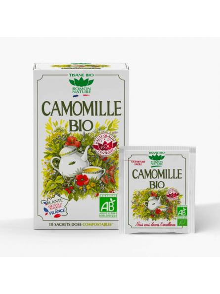 Infusions Camomille Bio Romon Nature Herboristerie du Palais Royal Paris