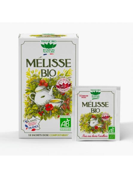 Infusions Mélisse Bio Romon Nature Herboristerie du Palais Royal